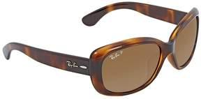 Ray-Ban Brown-Grey Gradient Ladies Sunglasses RB4101F 710/T5