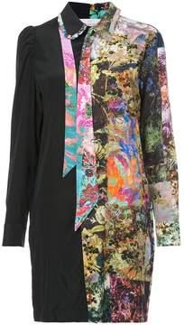 A.F.Vandevorst patchwork shirt dress