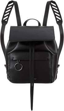 Off-White Off White Leather Chevron Backpack