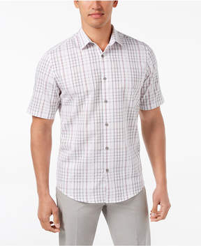 Alfani Men's Chilton Plaid Shirt, Created for Macy's