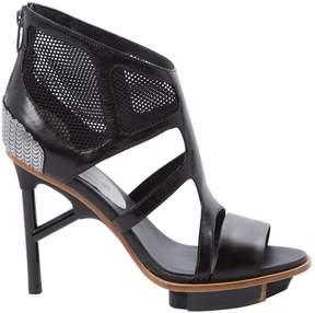 Y-3 Leather heels