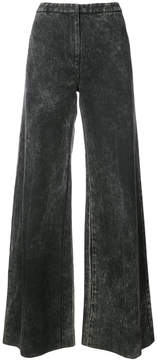 ADAM by Adam Lippes acid wash palazzo jeans