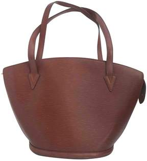 Louis Vuitton St Jacques leather tote - CAMEL - STYLE