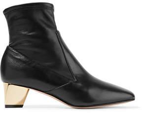 Nicholas Kirkwood Prism Leather Ankle Boots - Black