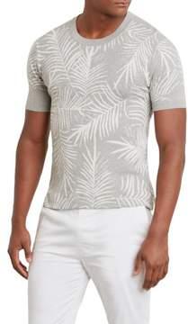 Kenneth Cole New York Short-Sleeve Palm Shirt - Men's