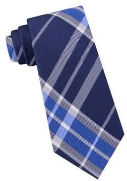 Lord & Taylor The Mens Shop Park Plaid Silk Tie