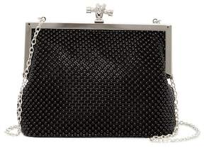 Jessica McClintock Becky Frame Ball Chain Clutch