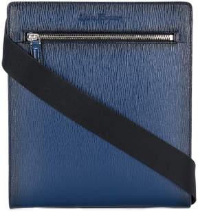 Salvatore Ferragamo textured crossbody messenger bag