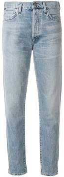 Citizens of Humanity straight leg mid rise jeans