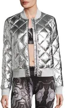Alo Yoga Idol Quilted Bomber Jacket