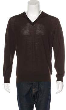 Isaia Wool V-Neck Sweater w/ Tags