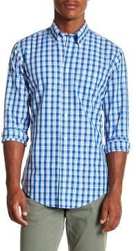 Brooks Brothers Summer Plaid Long Sleeve Sport Fit Shirt