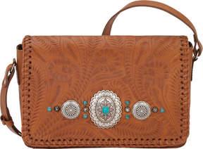 American West Lariat Love Crossbody Flap Bag/Wallet (Women's)