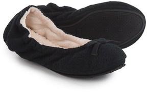Dearfoams Ballerina Bedroom Slippers (For Women)