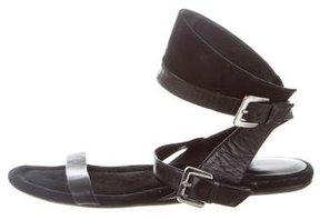 Camilla Skovgaard Leather Wrap-Around Sandals