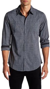 Burnside Long Sleeve Regular Fit Shirt