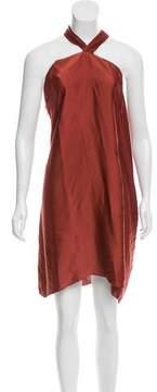 A.F.Vandevorst A.F. Vandevorst Pleated Halter Dress w/ Tags