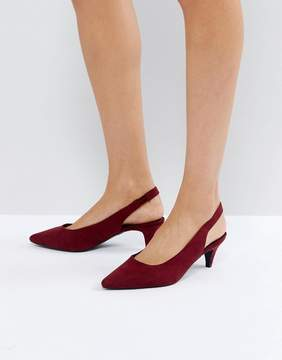 New Look High Vamp Slingback Shoe