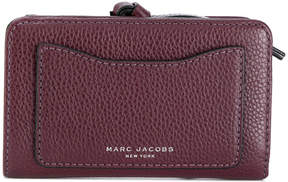 Marc Jacobs logo embossed wallet - BROWN - STYLE