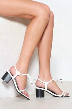 Nasty Gal On the Go Strappy Sandal