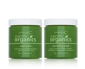 EmerginC Scientific Organics At-Home Peel and Clarifying Kit