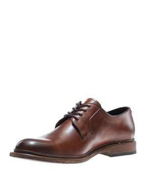 Wolverine Luke Leather Lace-Up Oxford, Brown