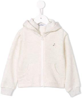 Familiar zipped hoodie