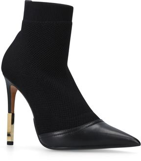 Balmain Leather Aurore Ankle Boots 110
