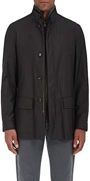 Luciano Barbera Men's Favorita Wool-Blend Twill Coat