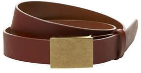L.L. Bean Signature Plaque Belt Men's