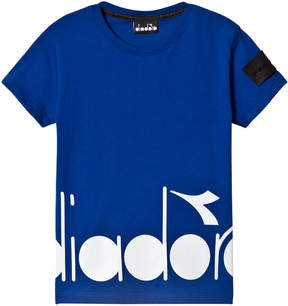 Diadora Blue Branded T-Shirt