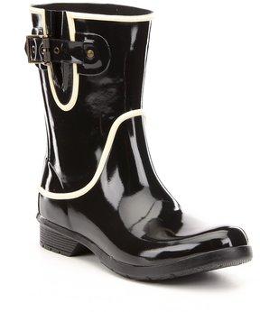 Chooka Classic Mid Fine Line Buckle Detail Rain Boots