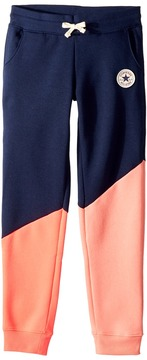 Converse Color Blocked Joggers Girl's Casual Pants