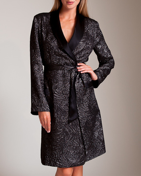 Carine Gilson Jacquard Passerin Lurex Robe