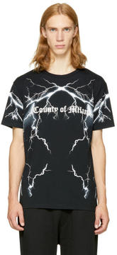 Marcelo Burlon County of Milan Black Telgo T-Shirt