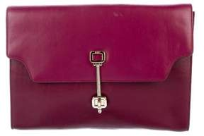 Tod's Leather Clutch