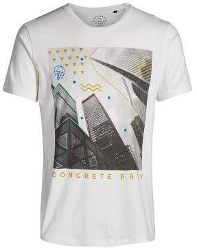 Jack and Jones Originals Neon Graphic T-Shirt