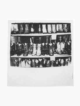 Calvin Klein large cotton cowboy boots bandana