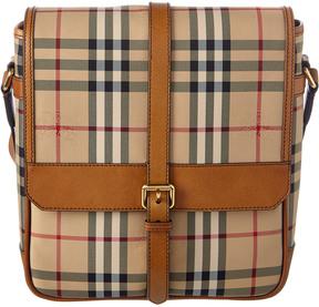 Burberry Bryett Horseferry Check Crossbody Bag
