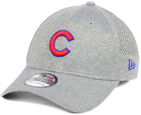 New Era Chicago Cubs Heathered Perf Patch 39THIRTY Cap