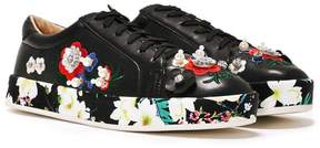 Nasty Gal She Said Bloom Embellished Sneaker