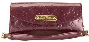 Louis Vuitton Amarante Monogram Vernis Leather Sunset Boulevard Bag - AMARANTE - STYLE