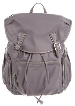 MZ Wallace Leather-Trimmed Nylon Backpack