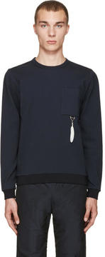 Oamc Navy Feather Pullover