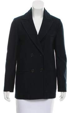 Cacharel Double-Breasted Twill Blazer