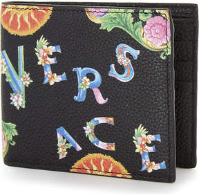 Versace Billfold leather wallet