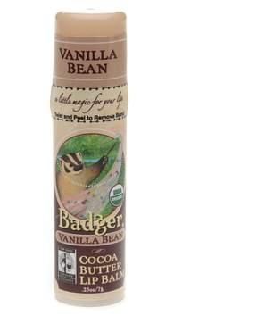 Badger Cocoa Butter Lip Balm Vanilla Bean