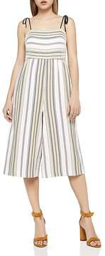 BCBGeneration Tie-Strap Stripe Culotte Jumpsuit