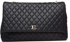 Ermanno Scervino Quilted Black Handle Bag
