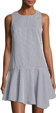 Donna Morgan Drop-Waist Striped Dress